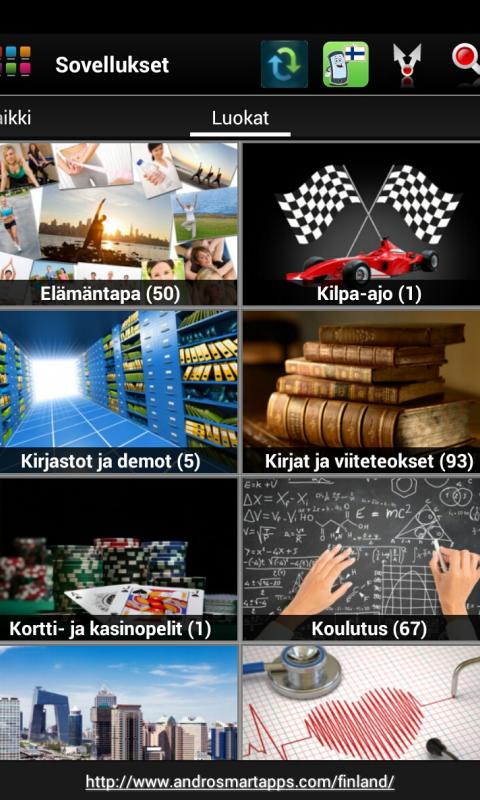 Screenshot Finland Android APK