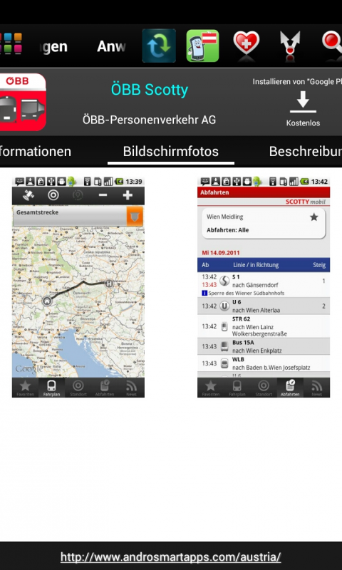 Screenshot Austria Android APK