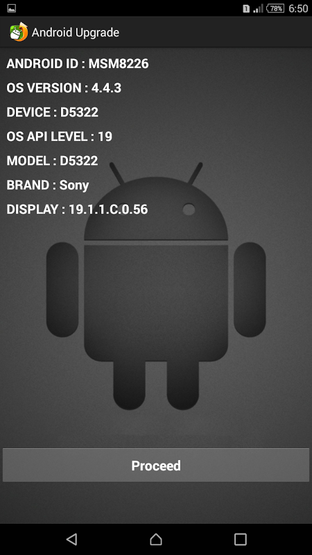 Screenshot Upgrade for Android APK