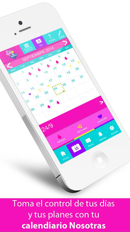 Mi Calendario by Nosotras The App Store android Code Lads