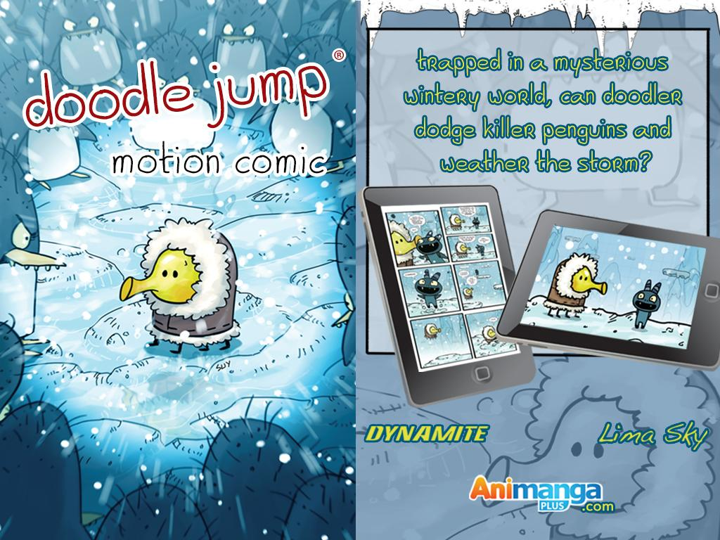 Doodle Jump Motion Comics The App Store android Code Lads