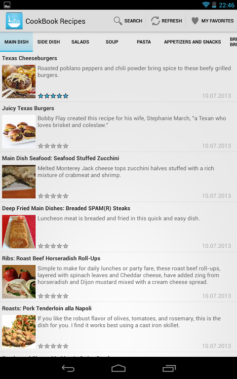 Recipes The App Store