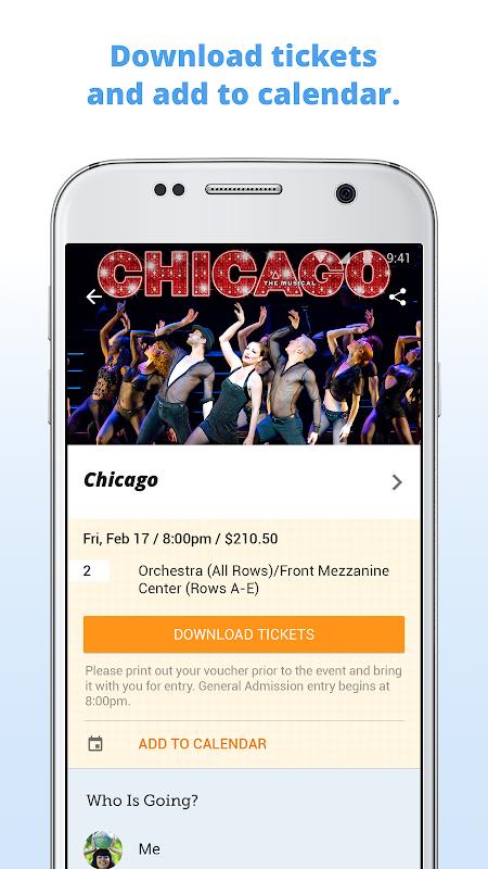 Screenshot Goldstar: Live Event Tickets APK