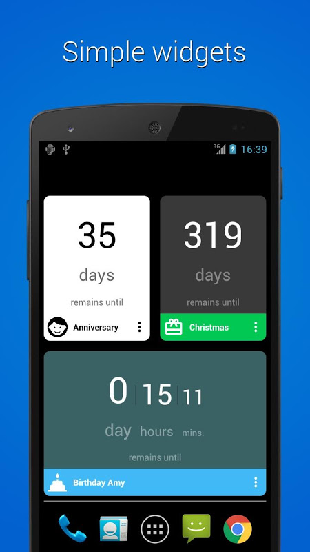 Screenshot Counter Widget for Android APK