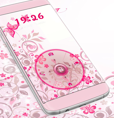 Screenshot Locker Theme for Android Pink APK