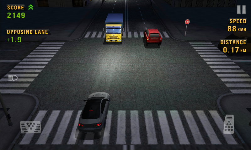 Screenshot Traffic Racer APK