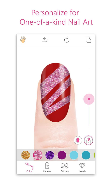 Screenshot YouCam Nails - Manicure Salon for Custom Nail Art APK