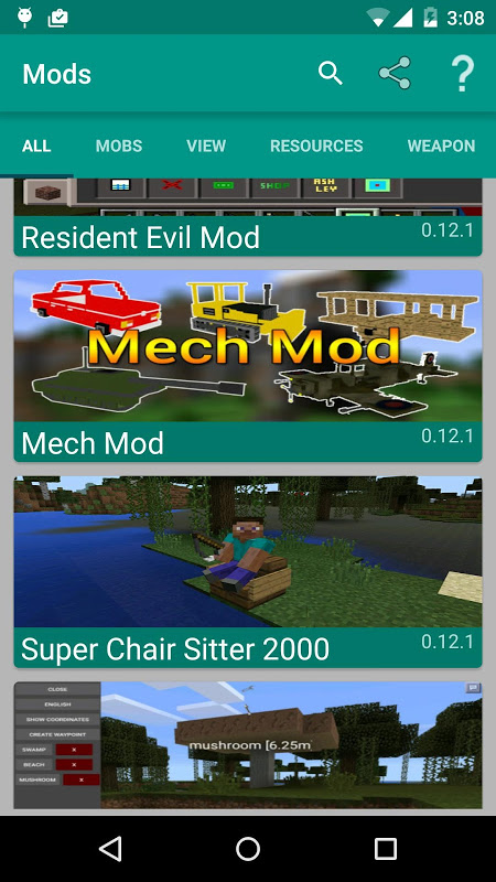 Mods for Minecraft The App Store android Code Lads