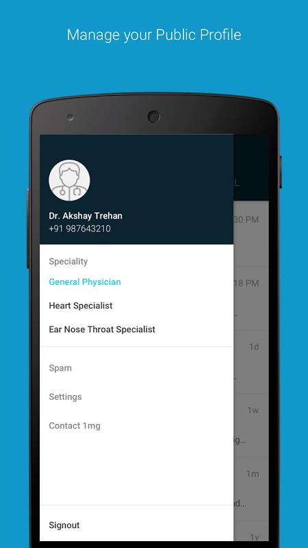 Screenshot 1mg - For Doctors APK
