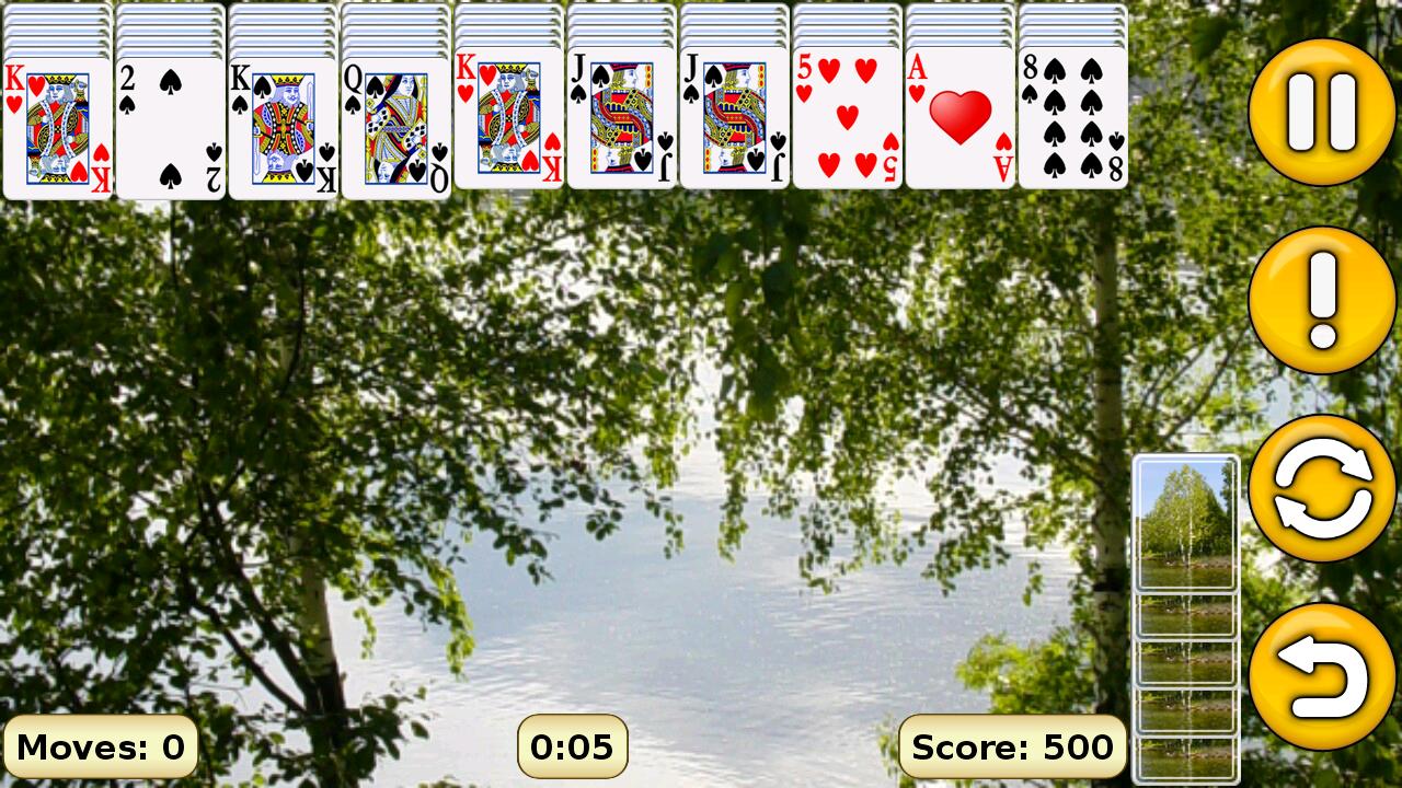 Screenshot Spider Solitaire APK