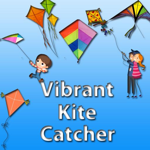 Vibrant Kite Catcher