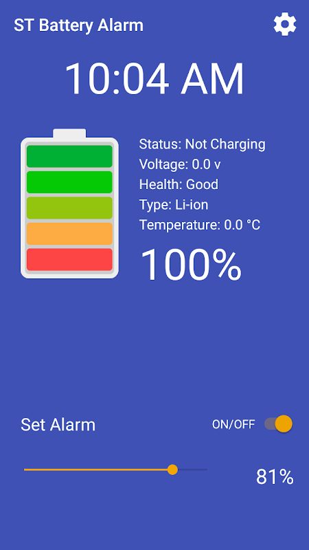ST Battery Alarm Download   The App Store