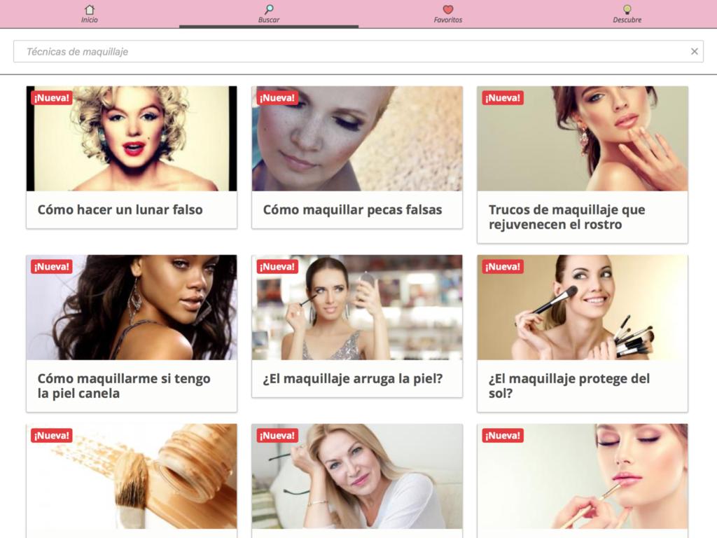 Screenshot Trucos de maquillaje APK