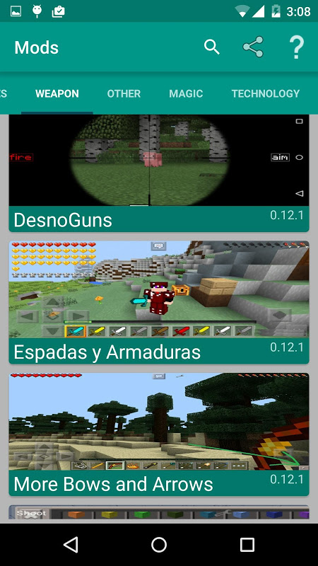 Mods for Minecraft The App Store