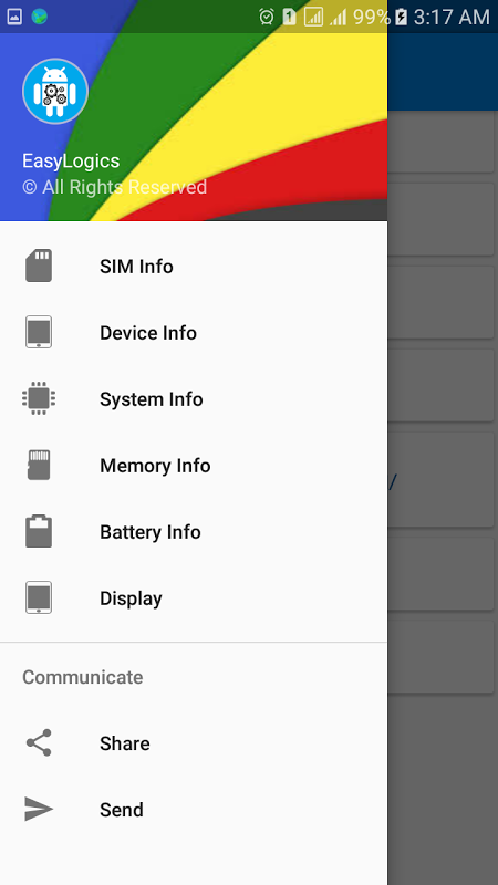 Screenshot My Android Device Info Droid APK