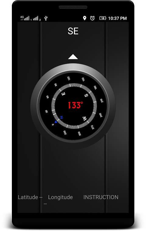 Screenshot Compass with Android APK