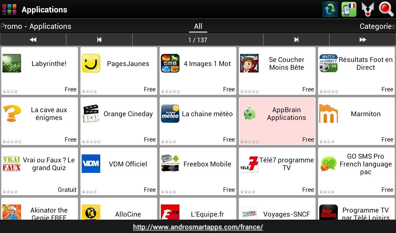 Screenshot France Android APK