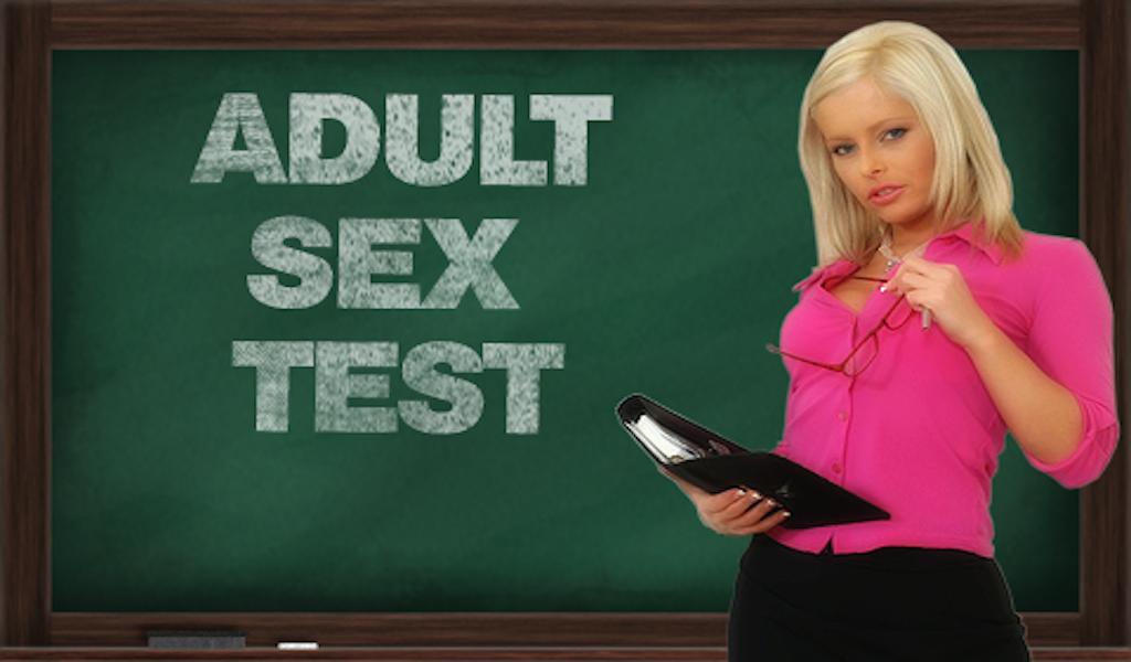 Screenshot Adult Sex Test APK