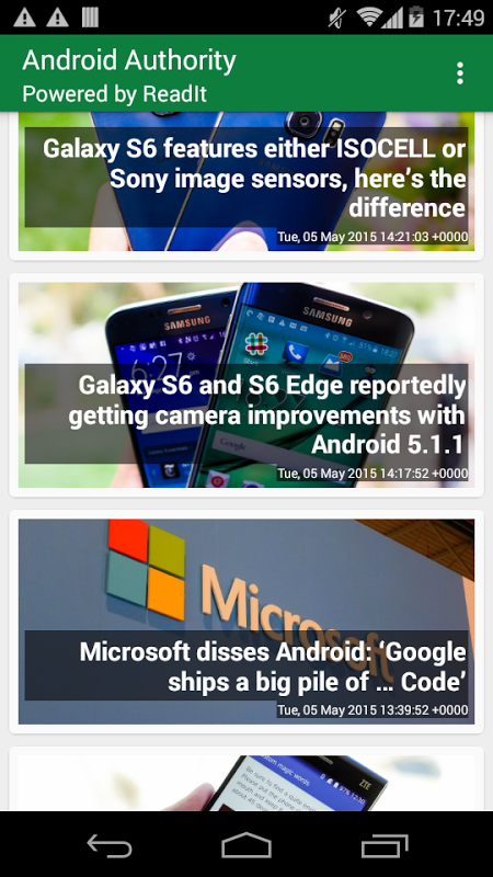 Screenshot Plugin for Android Authority APK