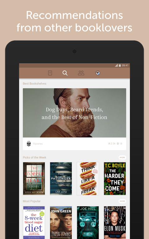 Screenshot Bookmate — reload your reading APK