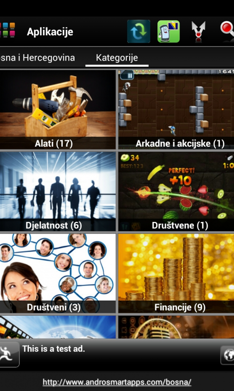 Screenshot Bosna Android APK