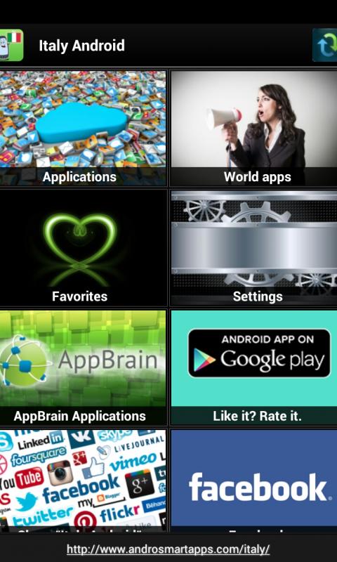 Screenshot Italy Android APK