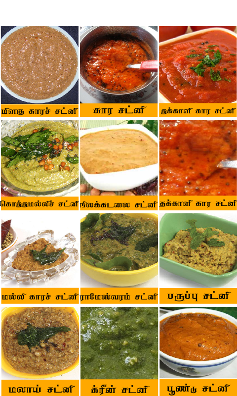 chutney recipes tamil The App Store
