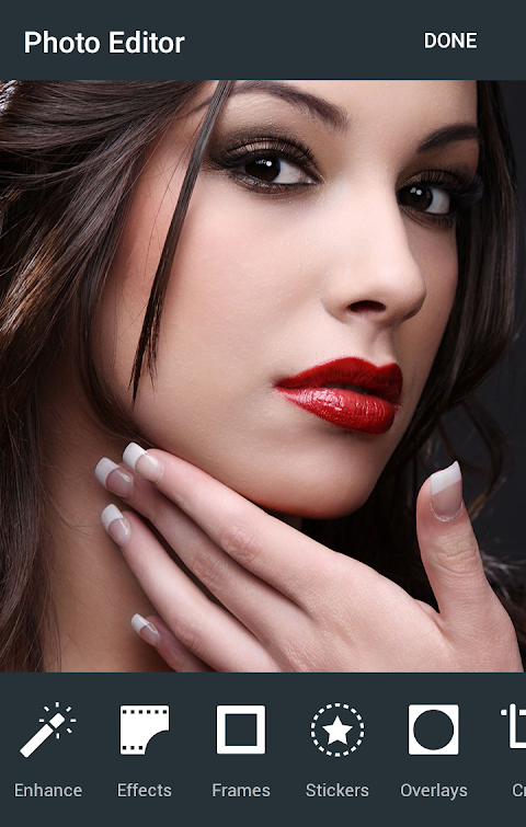 Camera Makeup App - Elektromain Image