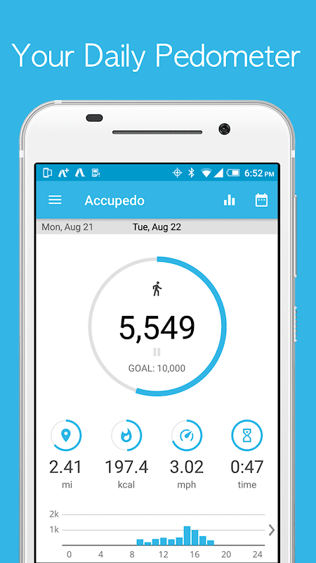 Pedometer - Accupedo The App Store