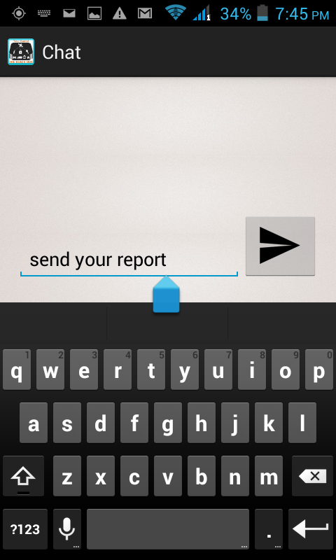 Screenshot Field Staff App Android APK