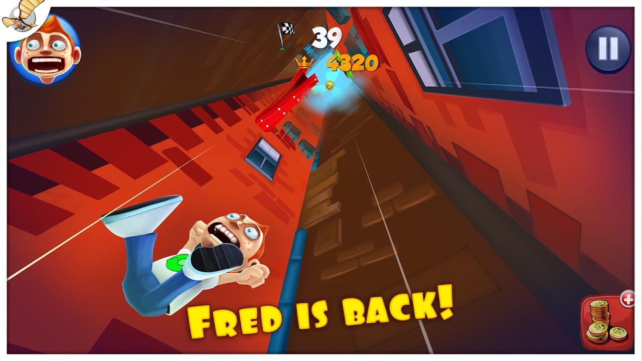 Screenshot Super Falling Fred APK