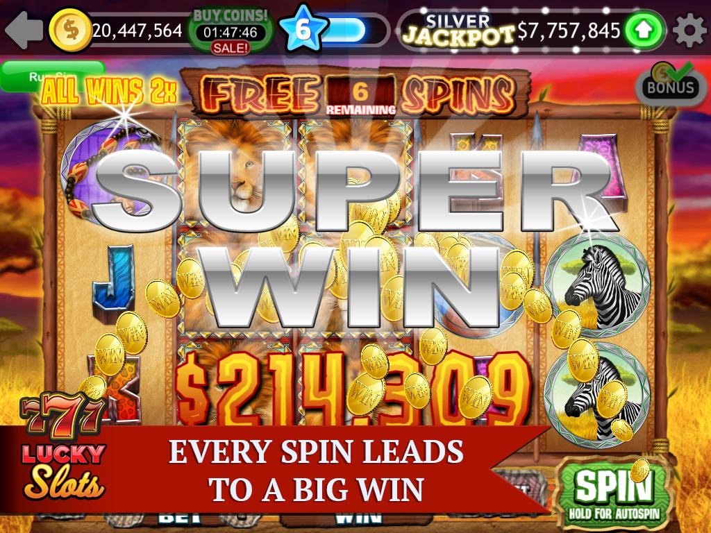 Screenshot Lucky Slots - Free Casino Game APK