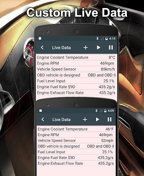Screenshot ToyoSys Scan Free (OBD2 & ELM327) APK