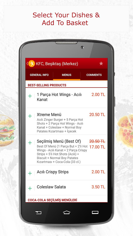 Yemeksepeti -Order Food Easily The App Store android Code Lads