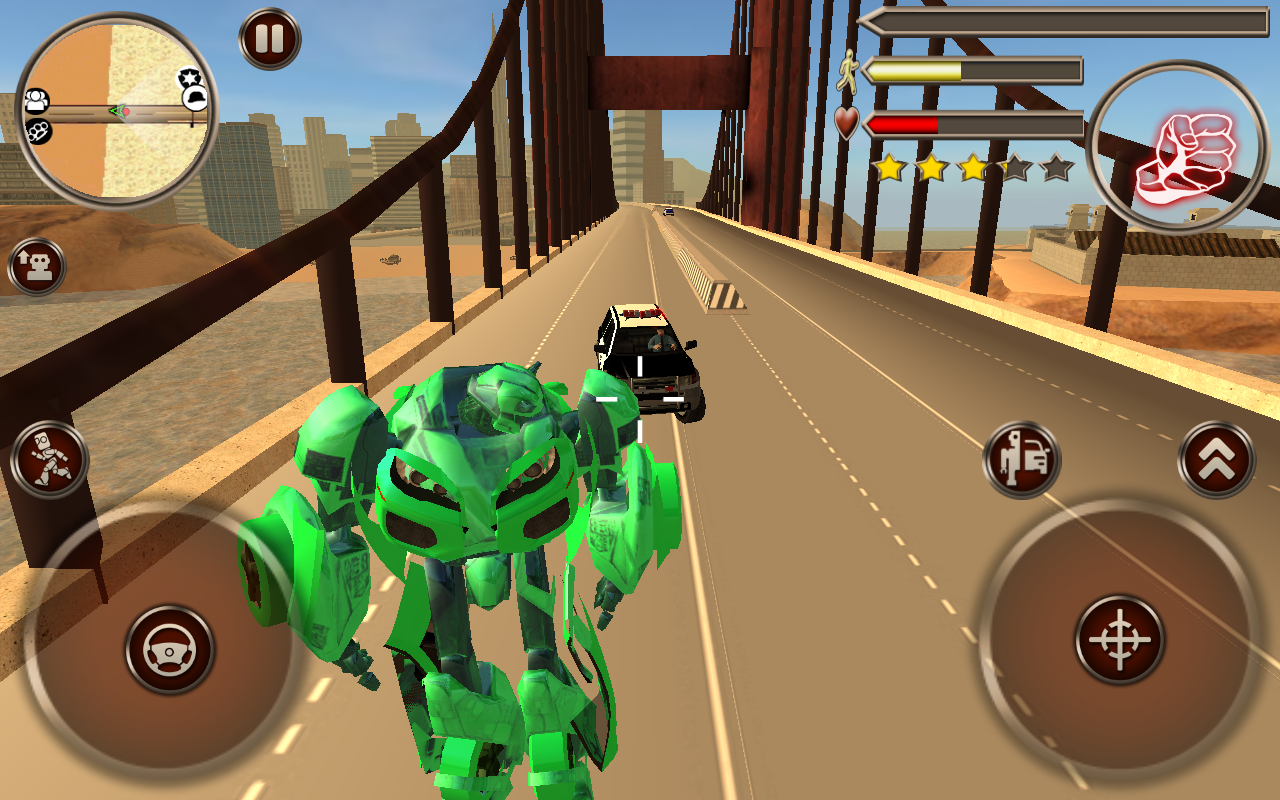 Screenshot City Robot Battle APK