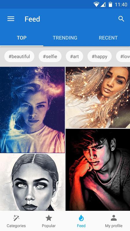 Screenshot Photo Lab PRO Picture Editor: effects, blur & art APK