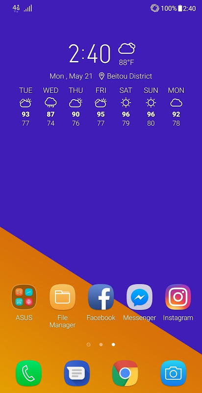 Screenshot ASUS Weather APK