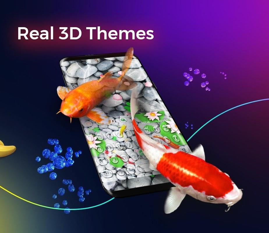 Screenshot Cheetah Keyboard-Gif,Emoji Keyboard&3D Themes APK