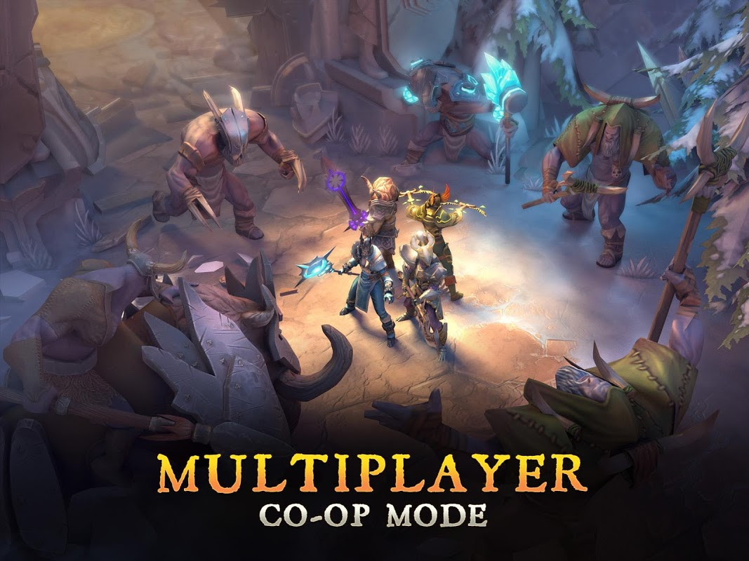 Dungeon Hunter 5 – Action RPG The App Store android Code Lads