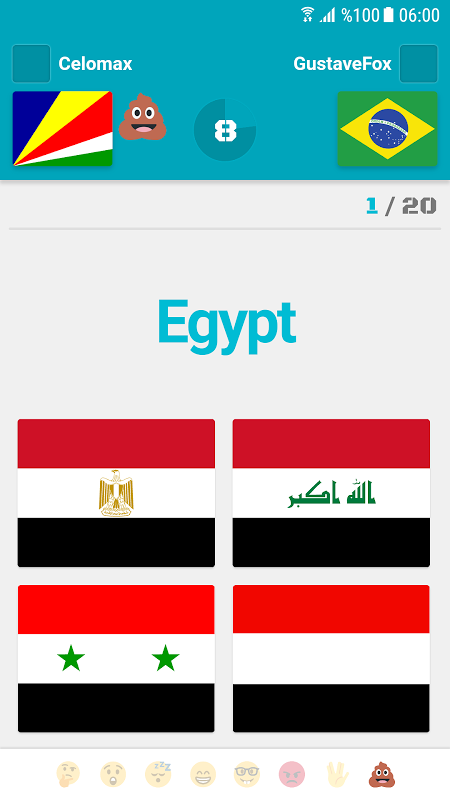 Screenshot Flags and Capitals of the World Quiz APK