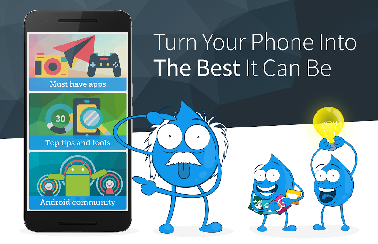 Screenshot Android Updates, Tips & Best Apps - Drippler APK