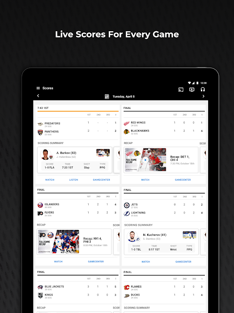 NHL The App Store android Code Lads