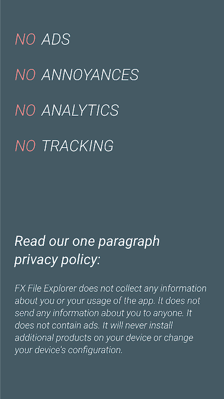 Screenshot FX File Explorer: No ads, No tracking, No nonsense APK