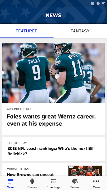 NFL The App Store