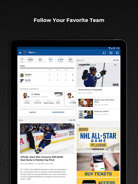 NHL The App Store