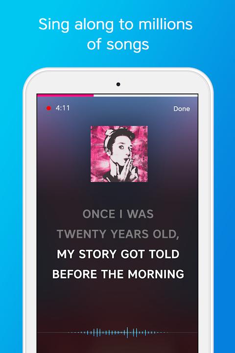Screenshot Karaoke - Sing Karaoke, Unlimited Songs APK