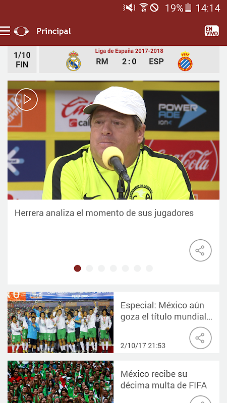 Televisa Deportes The App Store
