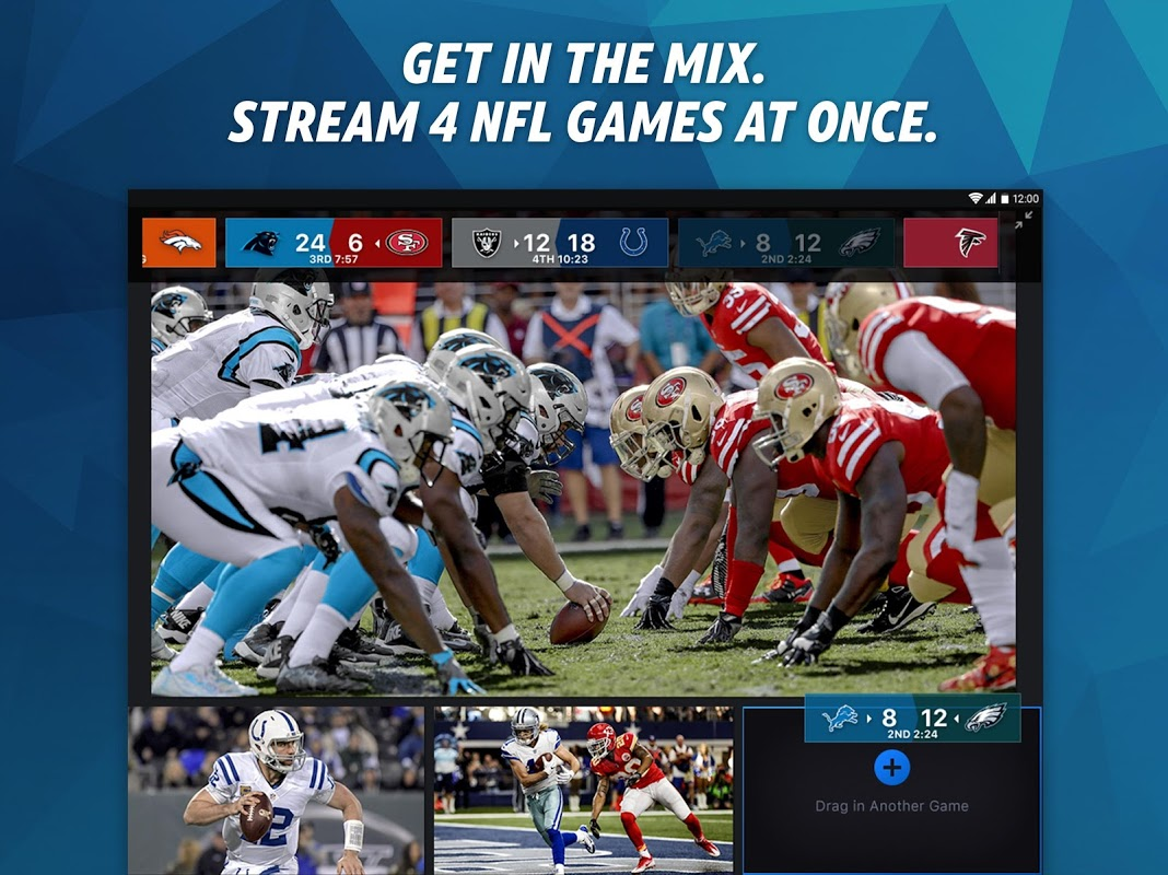NFL Sunday Ticket for Tablets & TV The App Store
