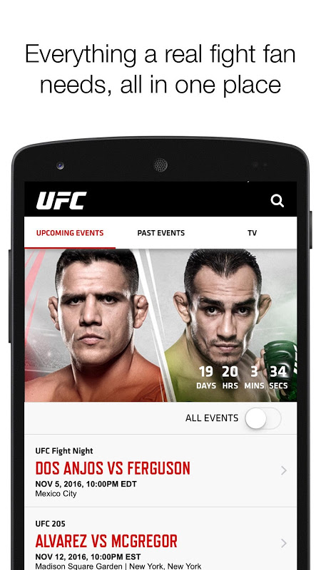UFC The App Store