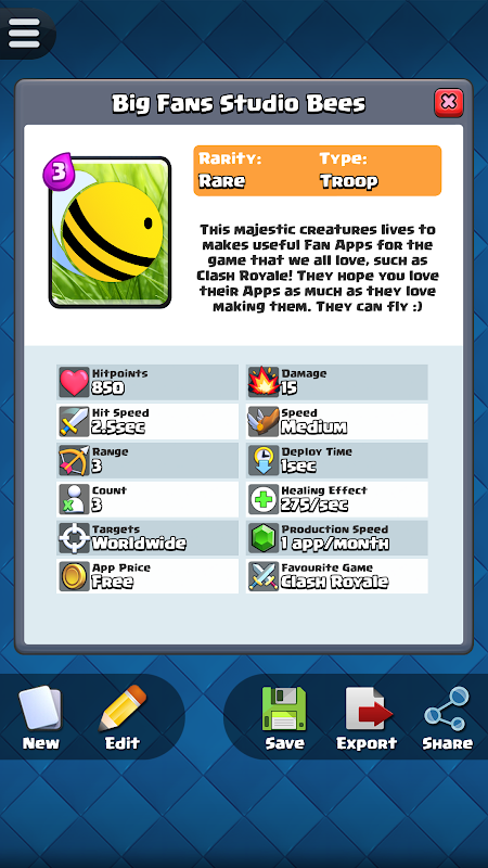 Card Creator for CR The App Store